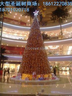 """温馨浪漫】""""北京彩带圣诞树制作-大型圣诞"""