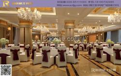 成都中餐厅装修的分区设计图片