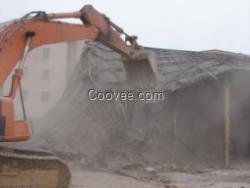 废旧厂房拆除本 公司拥有丰富的厂房拆除施工承包图片