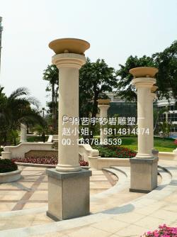 透光柱各种风格造型柱子主要用于园林景观亭子装饰,欧式风格建筑外墙