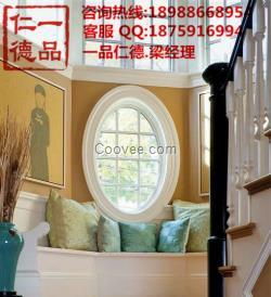中式个性设计圆窗图片