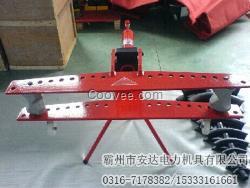 手动泵液压弯管机 脚踏泵液压弯管机图片