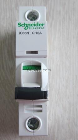 施耐德小型断路器ic65n-1a/1p