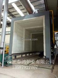 浙江春鸿供应杭州地区大型天然气台车炉