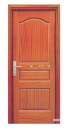欧式装修房门配红色效果图