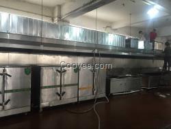 深圳风机排烟净化工程,不锈钢烟罩,排烟软件设备安装电路图绘制食堂知乎图片