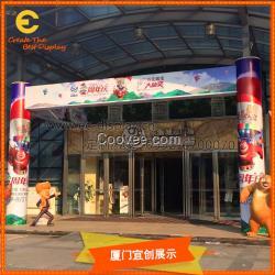 传统工艺品 树脂工艺品 树脂摆件 供应 商场周年庆美陈 门头装饰 道具