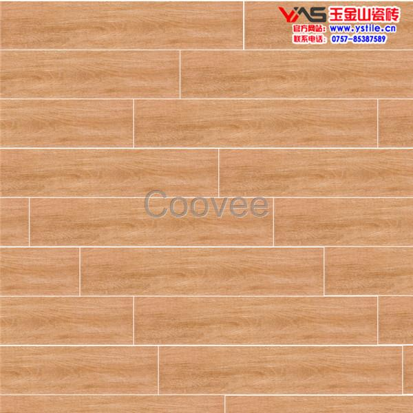 条形木纹地砖佛山木纹地板砖规格玉金山釉面木纹