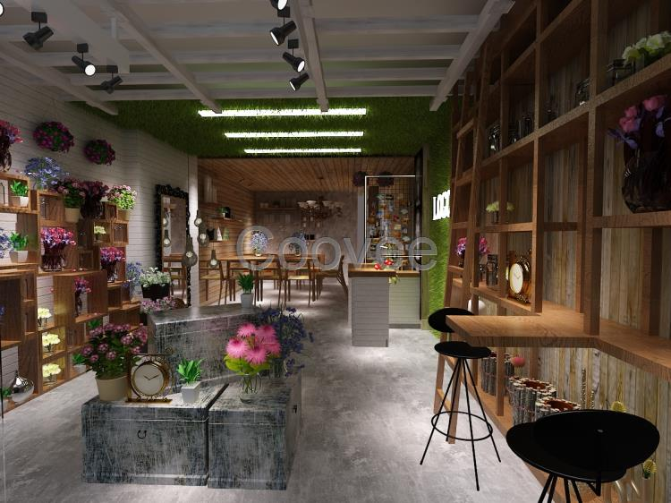 花店的装修与内部设计是营造美好的店堂环境所不可缺少的环节.