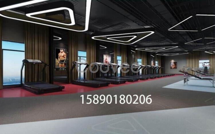 健身房瑜伽馆装修设计瑜伽馆背景设计   户型结构图,平图方案图,吊顶