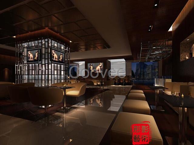 咖啡厅装修设计咖啡馆墙体设计