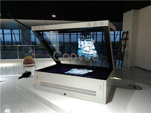 液晶显示 触摸屏产品 触摸一体机 180全息投影设备广州3d全息展示柜