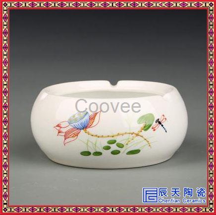 烟灰缸创意个性时尚烟灰缸简约欧式陶瓷居家客厅装饰