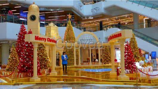 长沙购物中心美陈包装设计