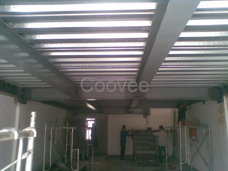 唐山搭建室内加层二层阁楼底商钢结构钢架隔层夹层制作
