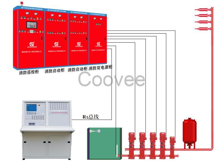 消防水泵巡检控制柜成套设备