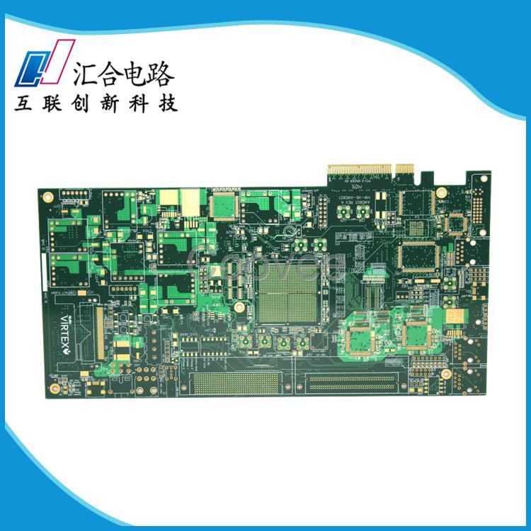 10层中tg金手指pcb电路板生产厂家汇合电路