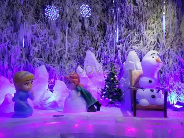考拉探险隧道,海绵宝宝儿童乐园,飞天大滑道,申沪--冰雕获奖作品汇展