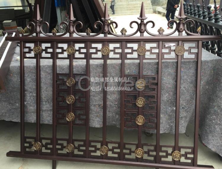 铝艺围栏别墅专用庭院铝艺围墙安装方法欧式铝艺护栏
