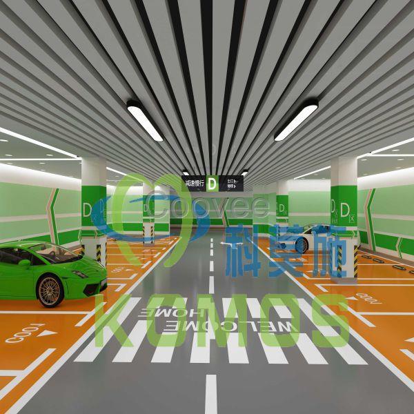 地下车库立体图设计重庆贵州四川云南图片