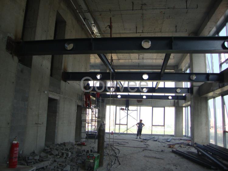 唐山古冶区区室内钢结构二层搭建制作