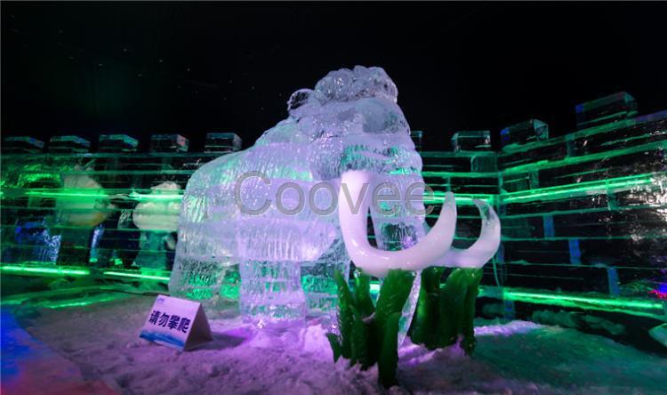 大型冰雕展设计方案出租极地冰雪动物城主题制作租赁