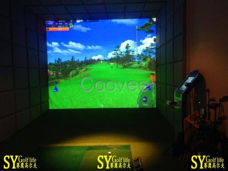 高尔夫3d模拟器设备
