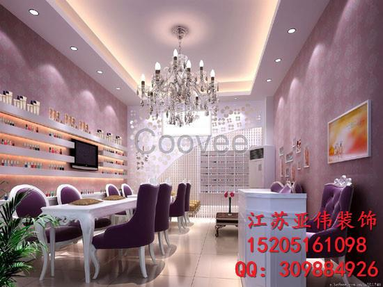 南京20平方美甲店装修设计预算