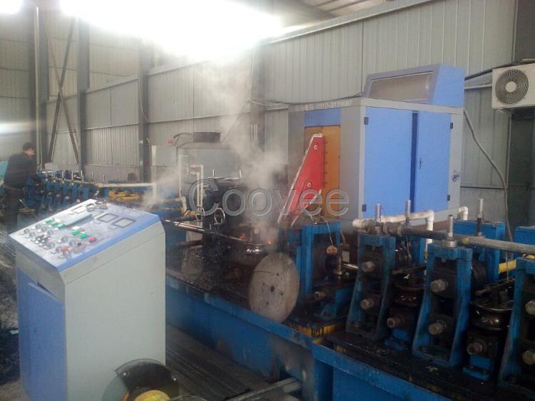固态高频焊管机厂家武德电器来报道