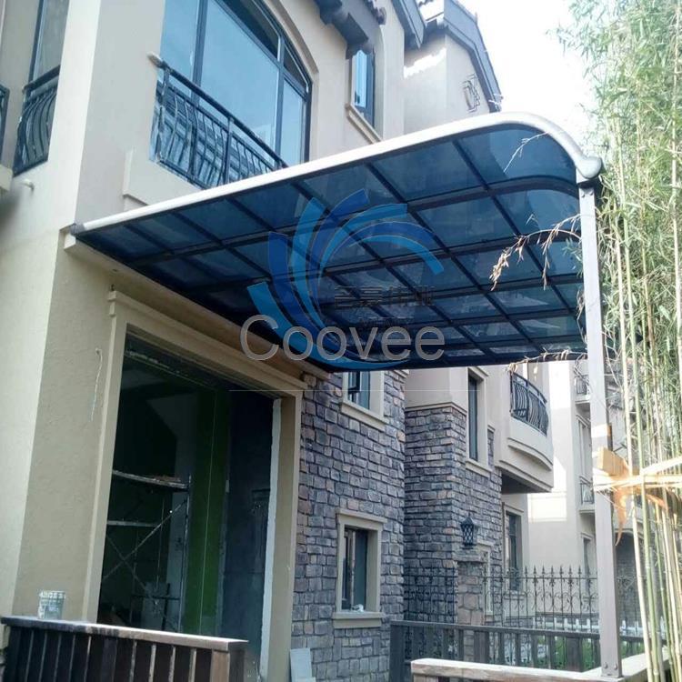 北京订做别墅阳台露台棚窗户雨篷雨搭门口遮雨棚厂家
