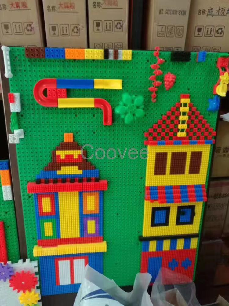 积木搭建房子步骤图
