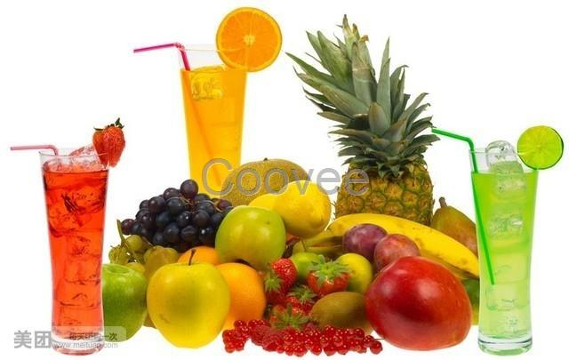 水果手绘荧光板报图片