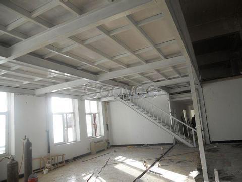 北京搭建别墅钢结构露台阁楼安装公司专业钢结构夹层安装制作