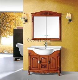 盘锦实木浴室柜,港姿洁具(图),实木浴室