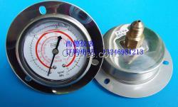 60MM带边充油防震R410A冷媒压力表