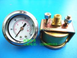 40MM背式带支架气压表