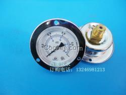50MM轴向带边气压表 镀铬表壳