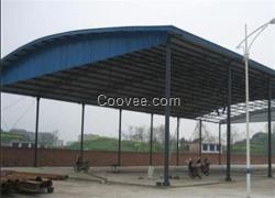 大岭山钢结构雨棚|钢结构雨棚选中赛|钢结