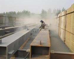 喷砂除锈、喷砂除锈、潍坊弘盛钢结构(图)