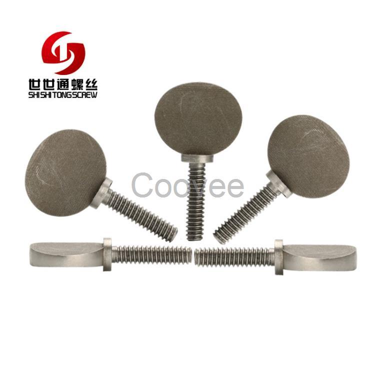 福田厂家生产不锈钢球拍螺丝m4.6设备用不锈钢球拍螺丝