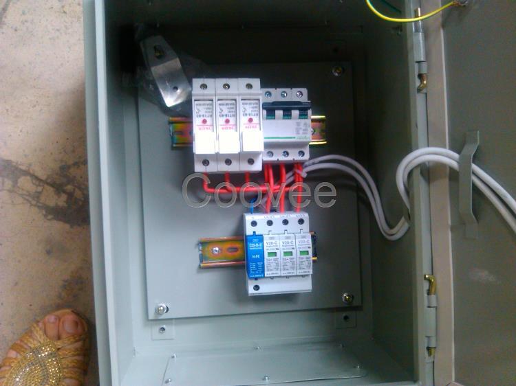 三相机架式电源防雷箱spd浪涌保护器二合一防雷器