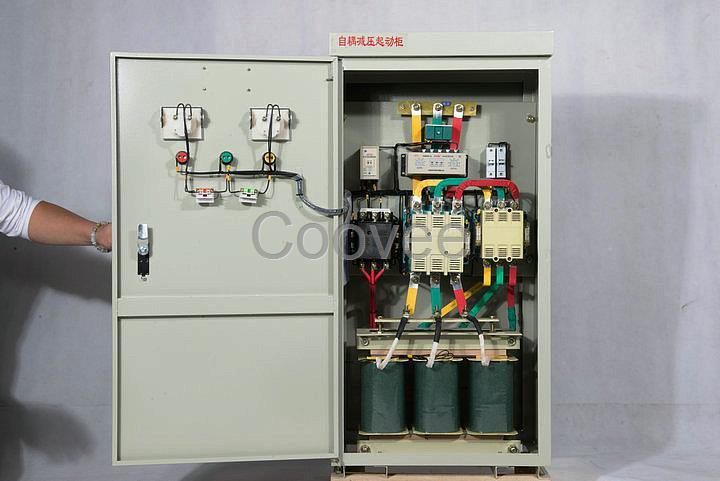 垃圾滚筒筛减压启动柜380v自耦降压启动器罗卡软起动