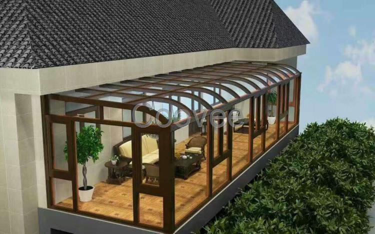阳光房设计图纸 我司投资大量资金组建的设计团队保障了这一环节,阳光