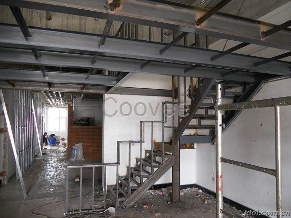 北京昌平区室内做钢结构二层搭建隔层