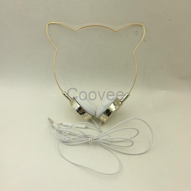 猫耳朵头戴耳机