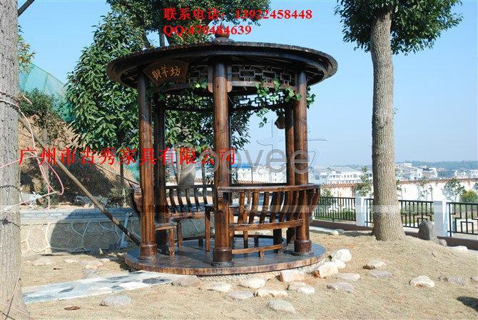 供应商机 家居用品 家具 户外家具 实木户外家具 欧式别墅木质凉亭