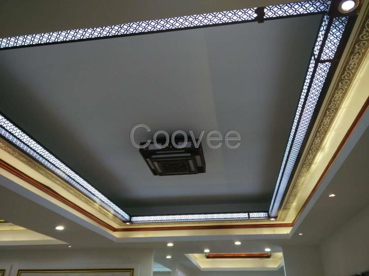 南海集成吊顶二级铝梁黄花梨二级铝梁转接件系列卧室客厅大厅