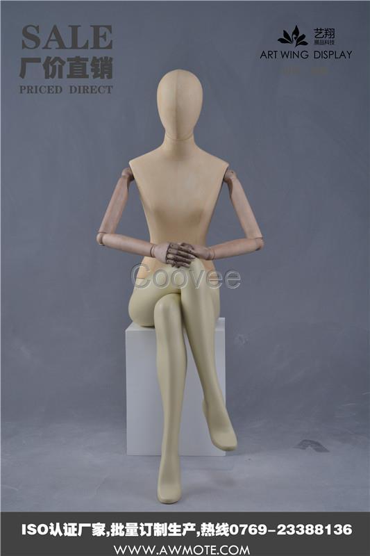 女装模特衣架道具艺翔展品科技订做