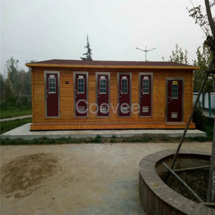 防腐木移动厕所旅游景区厕所公共卫生间洗手间户外移动环保厕所