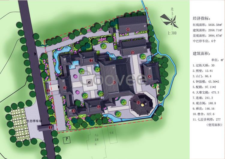 成都古建筑寺院设计公司